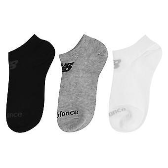 New Balance Heren 3 Pack No Show Sokken Lichtgewicht Geribbelde Trim Flat Lock Naad