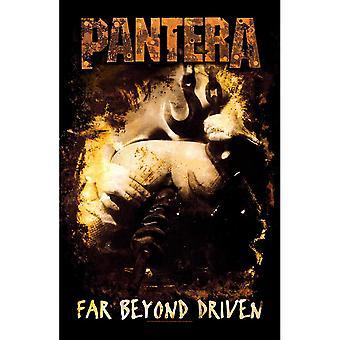 Pantera - Poster tessile ben oltre guidato
