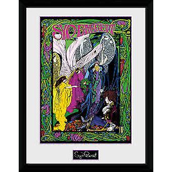 Syd Barrett - Line Art Collector Print