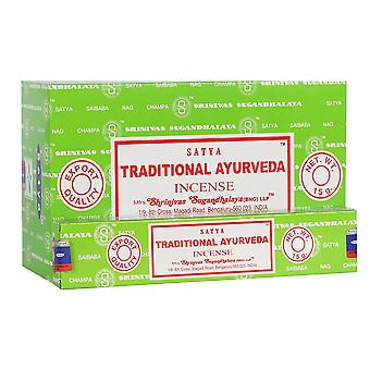 Perinteiset Ayurveda Incense Sticks-tikut by Satya