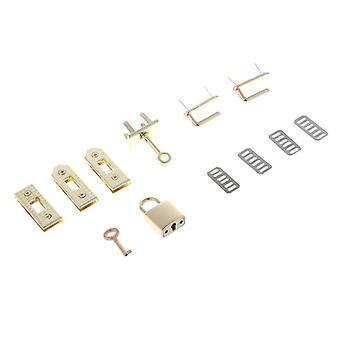 7pcs Clasp Lock Lockbutton Металл Хардвар
