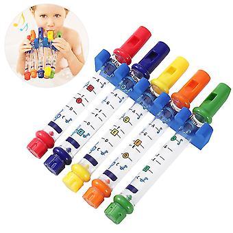Toymytoy 5pcs Kids Bath Water Flutes Bathing Toys