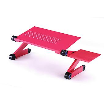 YANGFAN Adjustable Laptop Stand with Mouse Pad for Bed Sofa Couch Office