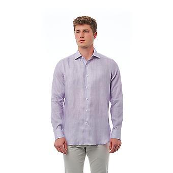 Purple Bagutta men's shirt