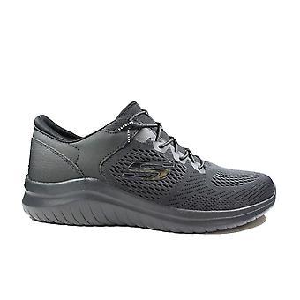 Skechers Ultra Flex 2.0 - Kerlem 232108 Black Mesh Mens Slip On Trainers