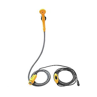 Camping shower 12v electric outdoor kit