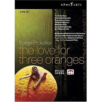 S. Prokofiev - Love for Three Oranges the [DVD] USA import