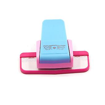 Bloem ontwerp diy papier cutter handgemaakte ambachtelijke gift nieuwe fancy border punch s embossing punch