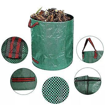 Tomber feuilles Sac de rangement Grande capacité Stockage Automne Jardin Jardin Nettoyage Poubelle Sac de rangement