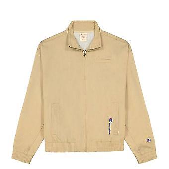 Champion Reverse Kudonta Pystysuora Script Logo Full Zip 113017MS025 universal ympäri vuoden naisten takit