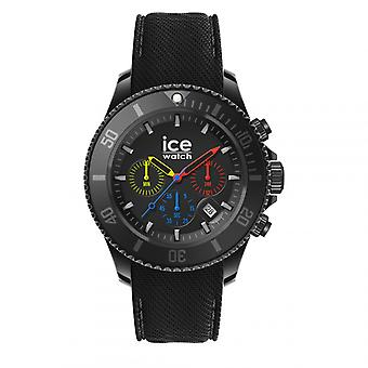 Herenhorloge Ice Watch Horloges ICE chrono 019842 - Siliconen Band Zwart