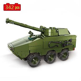 Série militaire Seconde Guerre mondiale Véhicules blindés russes Tank Soldier SWAT Blocs de construction Briques Jouets Cadeaux