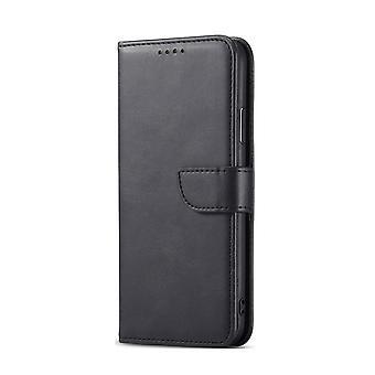Xiaomi 11i / Redmi K40 Pro / K40 Custodia magnetica PU / TPU Nero