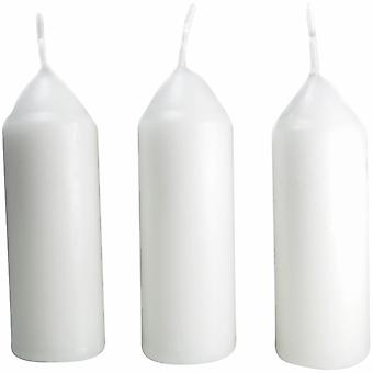 Candles original regular candle pack of 3 - white