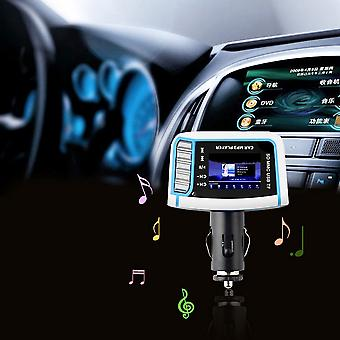 """1,44"""" LCD vezeték nélküli fm adó autó Mp3 lejátszó Tf kártya Usb meghajtó távirányító"""