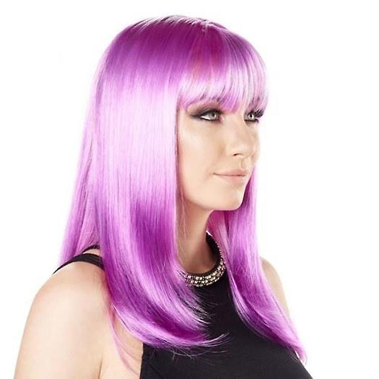 Party Wig - Twilight Purple - Bright Colours