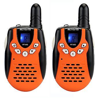 1 Paar Rt602 Walkie-Talkie Handheld Wireless Mini Child Walkie-Talkie