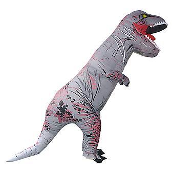 Szürke Tyrannosaurus Rex (gyermek) Halloween Cosplay Tyrannosaurus Rex felfújható jelmez dinoszaurusz jelmez