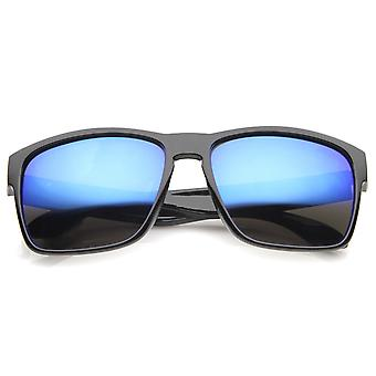 Actie Sport moderne Frame gespiegeld Lens rechthoek zonnebril 59mm