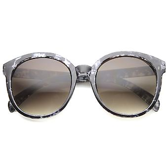 Womens Oversized Sunglasses With UV400 Protected Composite Lens