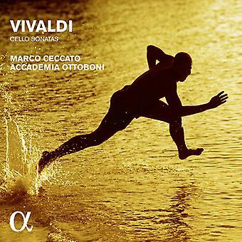 Vivaldi / Ceccato, Marco / Accademia Ottoboni - Vivaldi: sonates violoncelle [CD] USA import