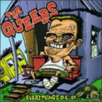 Queers - Everything's O.K. EP [CD] USA import