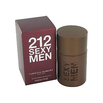 Carolina Herrera 212 sexede mænd Eau de Toilette 100ml EDT Spray