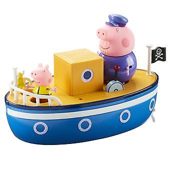 Barco de tempo de banho do Peppa Pig vovô porco