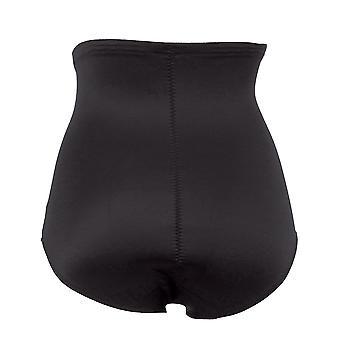 Anita Rosa Faia 1783-001 Women's Twin Shaper Black Light Control Slimming Shaping High Waist Brief