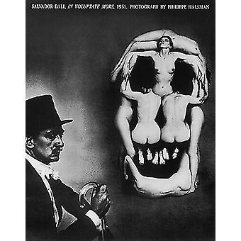 Salvador Dal In Voluptate Mors 1951 Poster Print von Philippe Halsman (24 x 30)