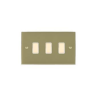 ハミルトン Litestat ・ チェリトン ビクトリア サテン黄銅 3 g M WayTouch スレーブ SB/WH