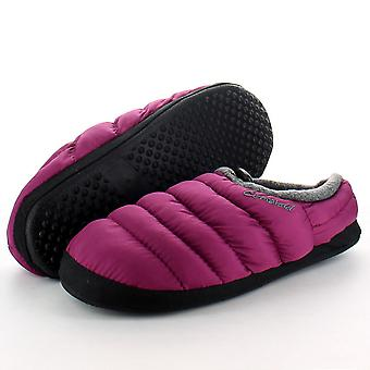 Cotswold Ladies Warm Casual Comfort Camping Slippers Purple