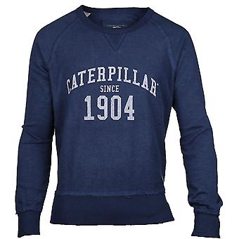 Caterpillar Mens 1904 Logo lange mouwen Casual Jumper trui