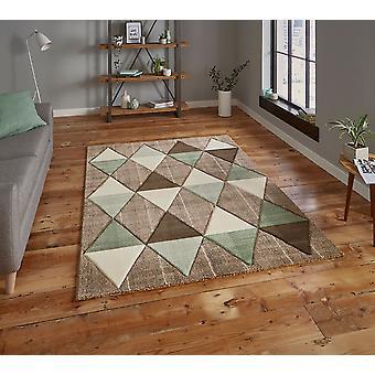 Brooklyn 21896 Rectangle vert Beige tapis tapis modernes