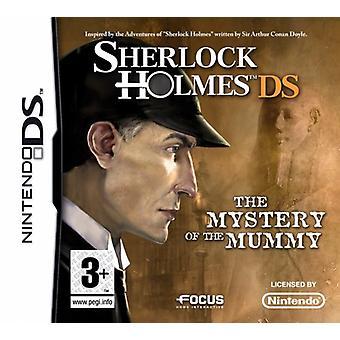 Sherlock Holmes The Mystery Of The Mummy (Nintendo DS) - Nouveau