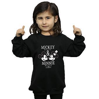 Disney jenter Mikke og Minnie Mouse Mousecrush mandager Sweatshirt