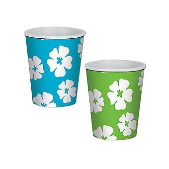 Hibiscus boisson tasses 9 Oz