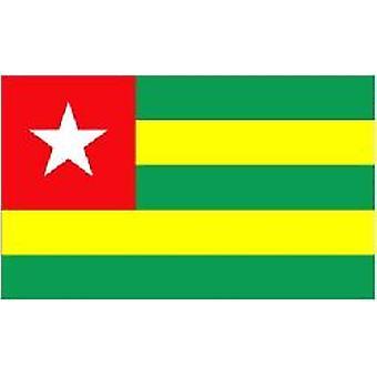 Vlag van Togo/Togo 5 ft x 3 ft (100% poly) met oogjes