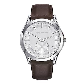 Pierre Cardin mens watch wristwatch of Botzaris leather PC107851F01