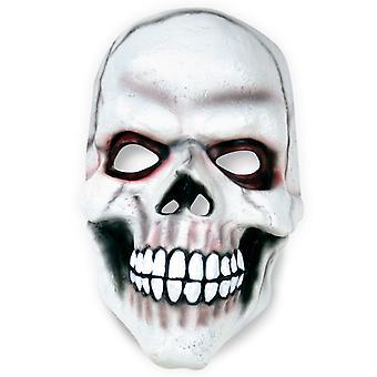 Koponya maszk koponya fehér Félmaszk latex horror Halloween