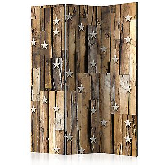 Paravent 3 volets - Wooden Constellation [Room Dividers]