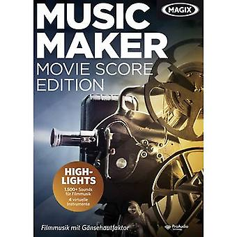 Magix Music Maker film Score Edition OEM, 1 licentie Windows muziek