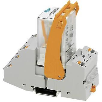 فينيكس الاتصال RIF-3-RPT-LDP-24DC/2X21 ترحيل مكون الجهد الاسمي: 24 V DC تبديل التيار (كحد أقصى): 10 A 2 تغيير المبالغ 1 pc (ق)