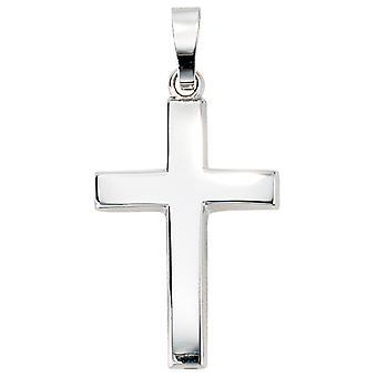 Cruz colgante oro blanco 585 CHANDRA Christ Cruz