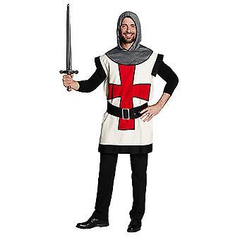 Kreuzritter Ritterkostüm Kämpfer Fighter Mittelalter Kostüm für Herren