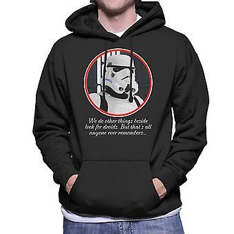 Oprindelige Stormtrooper Droids citerer Sweatshirt med hætte til mænd