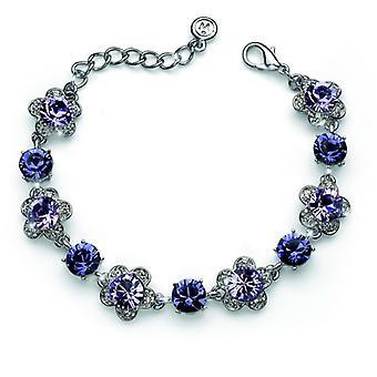 Oliver Weber Bracelet Prestige Rhodium, Violet