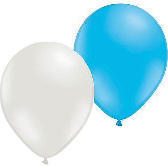 Ballon Bleu/Blanc 24-P