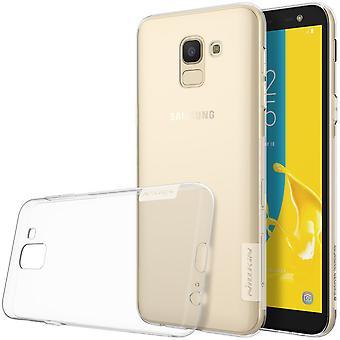 NILLKIN Samsung Galaxy J6 (2018) natuur serie TPU-transparant