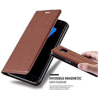 Hülle für Samsung Galaxy S7 EDGE Klappbare Handyhülle - Cover - mit Standfunktion und Kartenfach